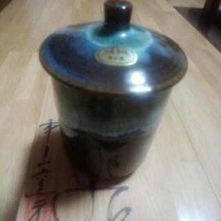 小石原焼蓋付き湯飲み🍵新品箱入り