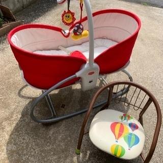 ベビーベッド 赤ちゃん用 椅子 セット