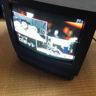 テレビデオ 14型 Panasonic