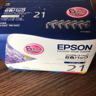 エプソン プリンターインク6色セット IC6CL21