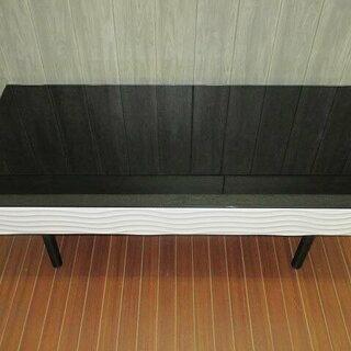 ss0173 ガルト センターテーブル ガラス天板 モノトーン ...