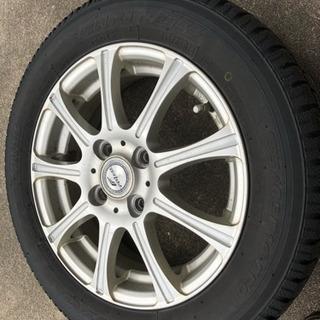 スタッドレスタイヤ 155/65 R14アルミホイール4本セット