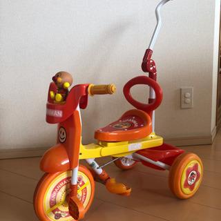 [お取引決定しました]中古品  アンパンマン三輪車