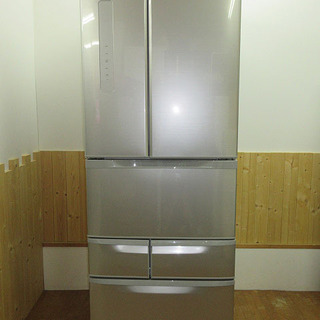 rb0463 東芝 冷蔵庫 GR-K50FR 501L シルバー...