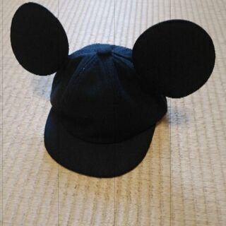 未使用 ミッキー風帽子