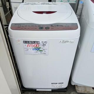 【安心の3ヶ月保証☆設置費無料】シャープ全自動洗濯機6kg   ...