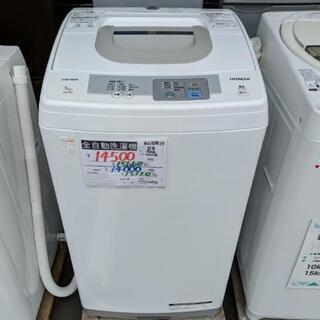 【安心の3ヶ月保証☆設置費無料】日立全自動洗濯機5kg  2014年製