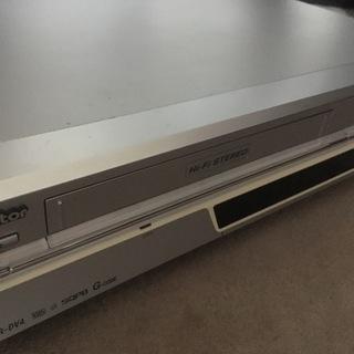 VHS&DVDプレイヤー(ビクター)