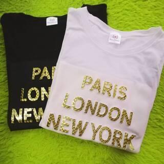 Tシャツ 2枚セット ホワイト&ブラック