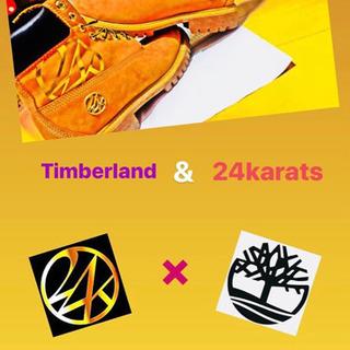 Timberland 24karats コラボ