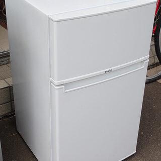 札幌市 ハイアール 85L冷蔵庫 JR-N85B 未使用 201...