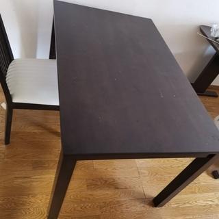 ニトリ ダイニングテーブル 食卓イス2本脚