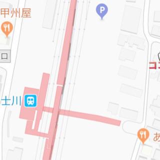 JR富士川駅より徒歩1〜2分 月極駐車場