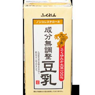 成分無調整豆乳 九州産ふくゆたか大豆  1000ml×6本 安心...