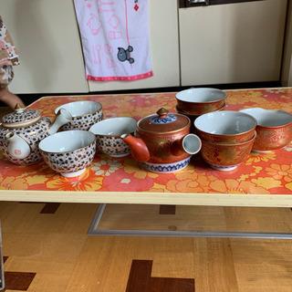 九谷焼 茶器 2セット