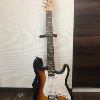 ギター (アンプ、ソフトケース、スタンド付き)