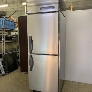 【ジャンク品】ホシザキ  業務用  縦型 冷凍庫 2ドア  HF...