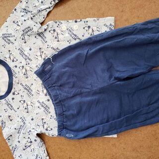 ミッキー春秋用パジャマ