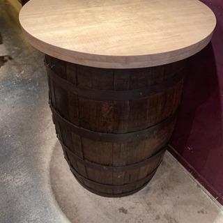 ワイン樽 ハイテーブル