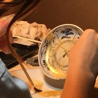 京都の専門職 柴田漆工房による 金継ぎ銀継ぎ教室 割ってしまった 欠いてしまった あなたの器が 素敵になって甦ります - ものづくり