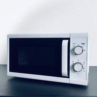 中古 レンジ ニトリ 2017年製 50Hz ホワイト 左…