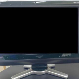 《正常稼働品》AQUOSテレビ20インチ×2台とテレビ台のセット
