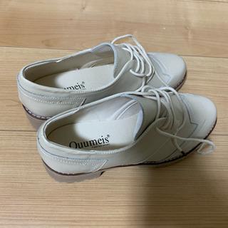 新品 革の靴 24.5
