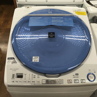 SHARP 8.0kg洗濯乾燥機 2015年製 ES-TA840-A