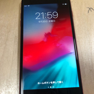iPhone8plus 64GB レッド
