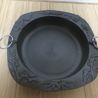 本格的なすき焼き用鍋(新品未使用)
