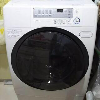 無料ジャンク ドラム全自動洗濯機 9k サンヨーAWD-AQ350