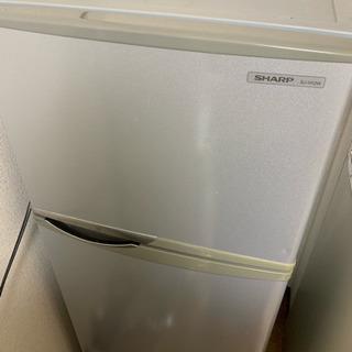 シャープ SHARP SJ-H12W-S [直冷式冷蔵庫 (11...