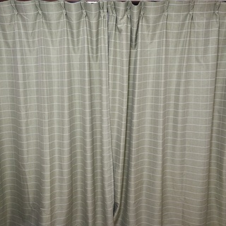 厚地カーテン+レースカーテン 2組 遮光 断熱 防音 UV…