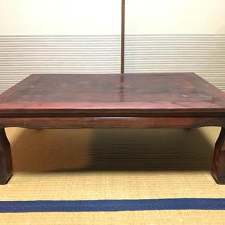 もらってください!座卓 ローテーブル 和家具 文机 アンティーク