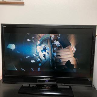 【9/23まで】【値下げ交渉可能】Blu-ray&ハードディスク内蔵テレビ - 旭川市
