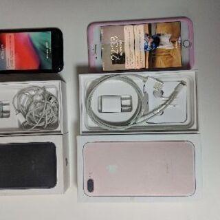 iPhone、7 + 128gb