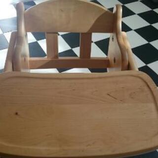 ベビー木製ローチェア