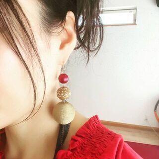 ピアス・ネックレス・ 小物&ランチ付き ハンドメイド