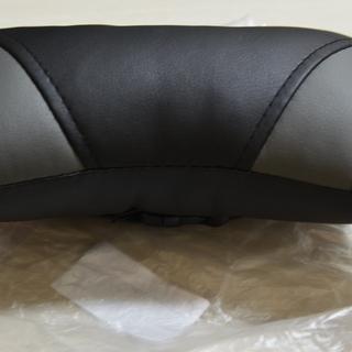 ネックパッド 車用 頚椎サポート 枕 首の疲れを軽減 ブラック