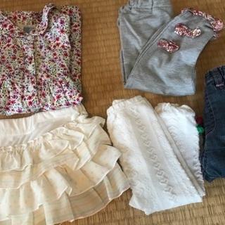 子供服 夏服処分 90サイズ 女の子 キスドロップ Gap
