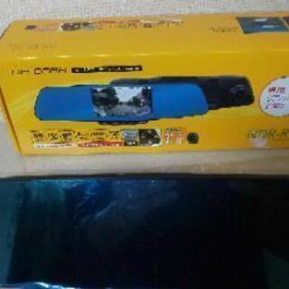 新品 未使用 ルームミラー型ドライブレコーダー    NDR -...