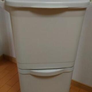 ゴミ箱 2段の画像