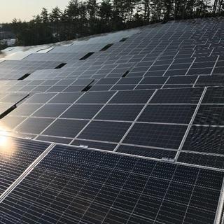太陽光の設置工事