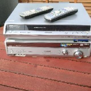 HDD/DVD レコーダー&AVアンプ