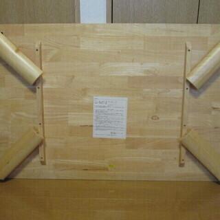 ニトリ 折り畳み机【幅121×縦75.7×高さ32.8㎝】…