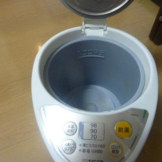 タイガーの電動ポット2.2L(洗浄剤つき)700円でお譲りします。