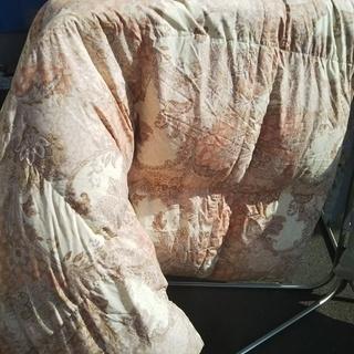 [ダブル羽毛布団]難あり特価⁑リサイクルショップヘルプ