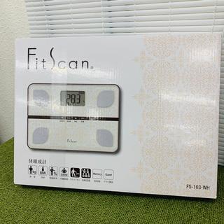 新品未開封   タニタ 体組成形 FitScan ホワイトFS-...