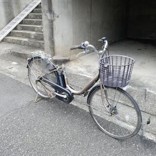 電動アシスト自転車ヤマハPASナチュラ