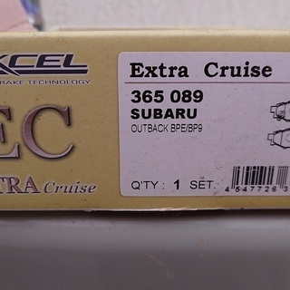 ブレーキパッドDIXCEL EXTRA Cruise  リ…